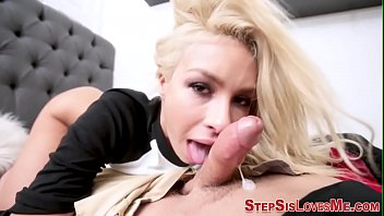 painting nails crossdresser Hubby eats wife after her date