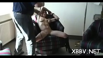 gangbing punishment wife Her son a peep step in bathroom