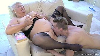 grandma in 30cm Negras super tetonas y culonas