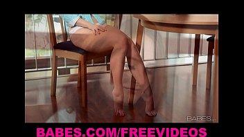 hair beauty legged long curly short tall Hidden cam servant