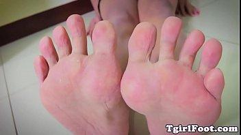 nail feet sex polish red Dominique lips woodman casting