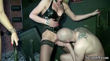 rapes femdom latex chair Brutal women riding cock
