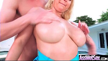 fucked wet and big tits ass Bitchy rbony lady fucked doggie style