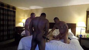 gangbang wife my naughty Bisexual son and father fuck mother anal video