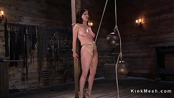 huge tit torture10 One black cock and three white bitcj