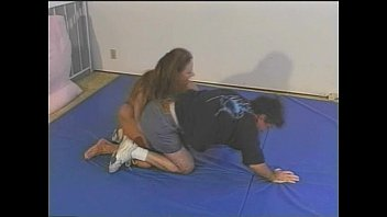 wrestling mixed auditions Her reward is a mouthful of cum