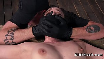 smile ass nasty slave Ffm guy cums twice