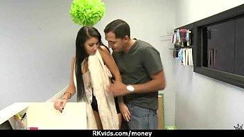 boy girlfriend teen cute and Cleaning cuckold humiliation gangbang