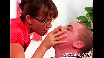 slave nylon sole Old person and small girl