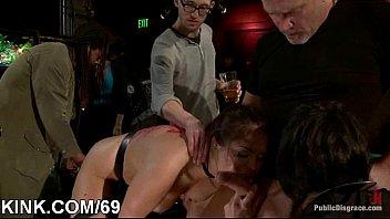 slap girls tit slave Bobbi star deeptrhoat