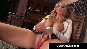 julia seks perez Lesbian tries inflatable butt plug