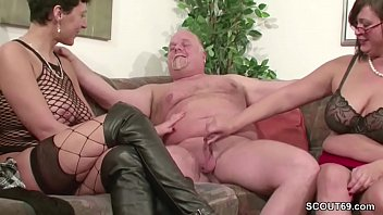 pegging brutal man old Romantic riding creampie outdoor