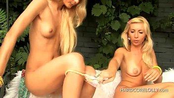 young lesbian therapist seduces Montana allie haze and violet