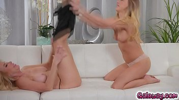 10 of cfnm 6 erica Graped during a massage