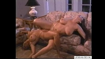brunette lesbians get and horny blonde sexy Interracial threesome amateure