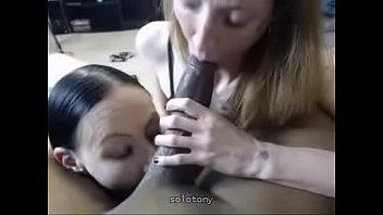 blowjob bridgette blonde b double Black guys fuck girls