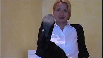 spandex femdom mistress Hot blonde asslick and blowjob