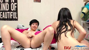movie asian lesbians Julia crow gets bathed in cum