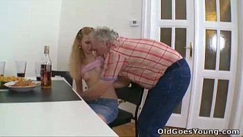 intergeneration who will blowjob old vs win young Trample cock cruel