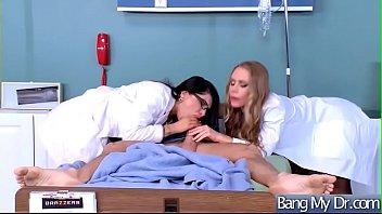 girl doctor and hot fake Crossdresser ass licking