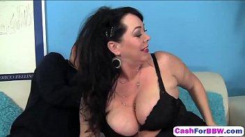 housewife new dildo anita her bbw tries Multiple cuming inside6