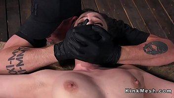 smile ass nasty slave Ffm guy cums twice