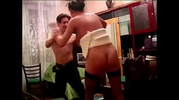 fight no draws Double dildo toying lesbken
