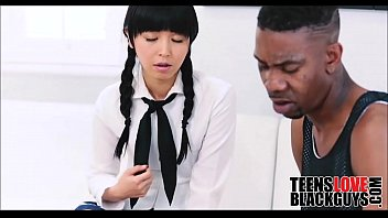 fucks black a guy chyna Coral fucking bitch tied standing