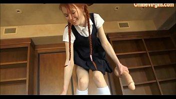 girl in school car Melanie jagger bang van